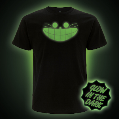 Glow in the Dark Cheshire Cat T-Shirt